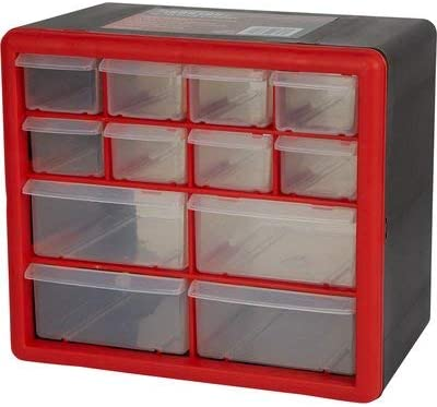 Ironton 12-Drawer Cabinet - 10in.W x 6 1/4in.D x 9in.H