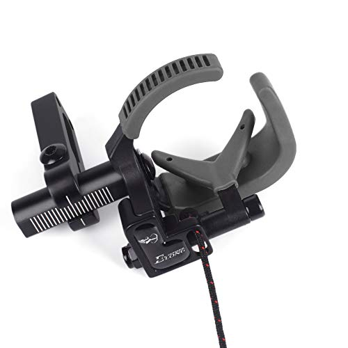 NIKA ARCHERY Arrow Rest Down Draft Cable Driven Full Containment Drop Away High Speed Landing Equipment for Compound Bow Left Hand