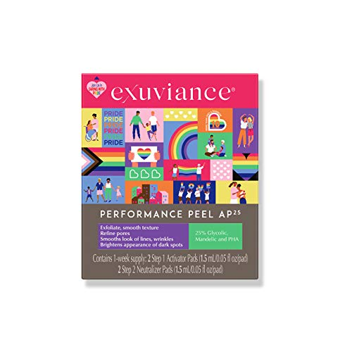 EXUVIANCE Performance Peel AP25 Special Limited Edition 10-Year Anniversary Care with Pride Packaging, 0.608 oz.