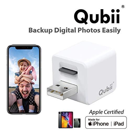 Maktar Qubii automatisches Backup und Ladegerät für iPhone & iPad