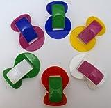 GEWA Nasenflöten SET aus Kunststoff diverse Farben - 6 Nasenflöten im Vorteilsset -- das beliebte Spaßinstrument mit vielen klanglichen Möglichkeiten
