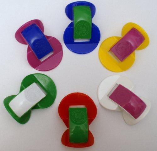 GEWA Nasenflöten SET aus Kunststoff diverse Farben - 6 Nasenflöten im Vorteilsset -- das beliebte...