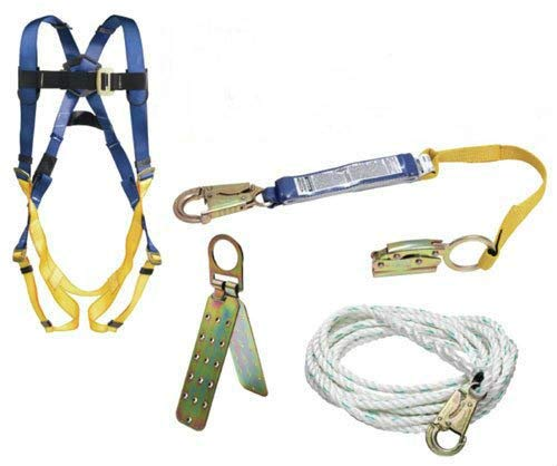 powerful Werner roof set K111201, simple 50-foot belt with through buckle, 1 piece