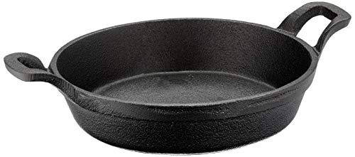Olympia Round Cast Iron Eared Dish Innovative Design with New Useful Features