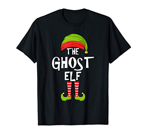Fiesta familiar de Navidad de los elfos fantasmas Regalo de Camiseta
