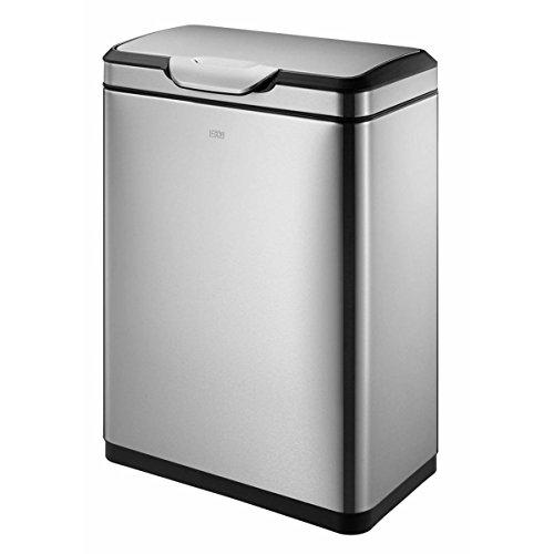 ゴミ箱 ごみ箱 分別 ふた付き ステンレス EKO タッチプロ ビン 20L+20L EK9178MT EK9178MT