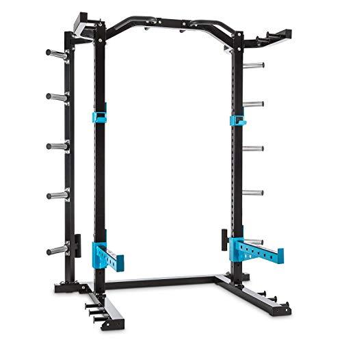 Capital Sports Amazor - Basic Power Rack, Safety Spotter: 500 kg, J-Cup: Max. 350 kg, Barra...