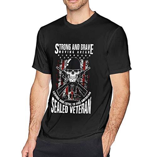 UiikIIDl Sportbekleidung Herren Kurzarmshirt Boys Men's Cotton Short Sleeve T-Shirts Fashion Fitness Round-Neck Tee Tops