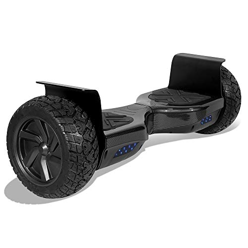 TPS All Terrain Off-Road Rugged Hoverboard w/8.5' Wheels Electric Smart Self Balancing Scooter LED...