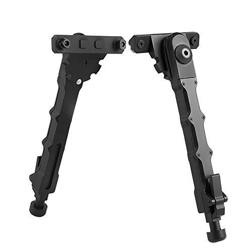 NICEFISH Mlok Zweibein Schwarz Aluminium Legierung Material M-LOK High-End Qualität V9 Stativ Zwei-Stück Zweibein