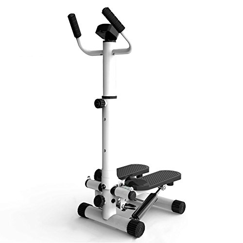 JYKJ Mini Stepper, Fitness Pedaal Calorie Consumptie Counter Mute Armsteun Afslankende Stepper Klimmen Voet Machine Gewichtsverlies Multifunctionele Fitness Machine