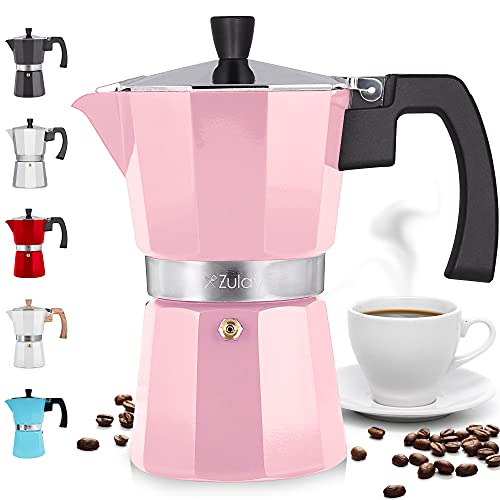 Zulay Classic Stovetop Espresso Maker for...