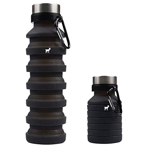 Goat Travel Water Bottle – Collapsible Water Bottle