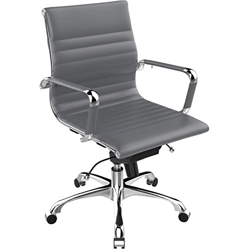 Poly and Bark  Office Chair, White