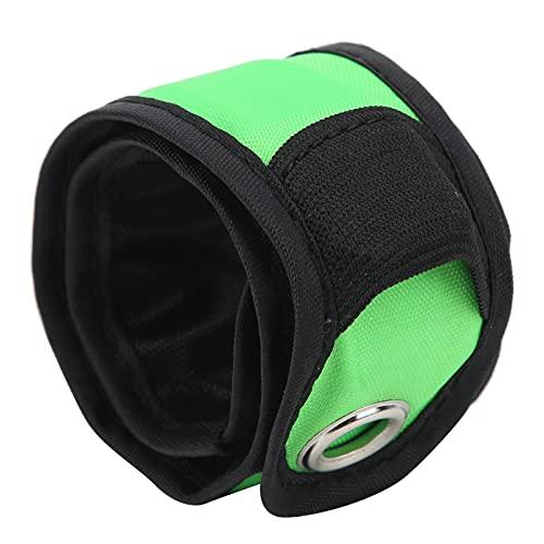 Pulsera LED para Correr, Pulseras LED Slap Correas de Nailon Impermeable para Acampar para Andar en...