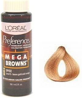 L'Oreal Preference # BR3 Mega Brown Spice
