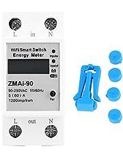 Energiemeter, ZMAi-90 WLAN, digitaal, LCD-afstandsbediening, eenfasig, 90-250 V (60 A)