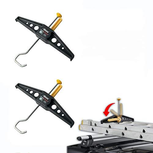 Rhino RAS21 SafeClamp Leiterhalter für Dachträger Leitersicherung Safe Clamp 1 Paar