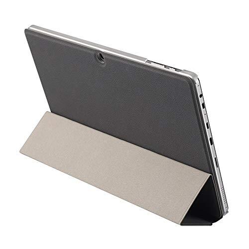 Zshion Funda para tablet CHUWI Hi10 X/HI10 Air, ultrafina, con función atril, para CHUWI Hi10 X/HI10 Air (negro)