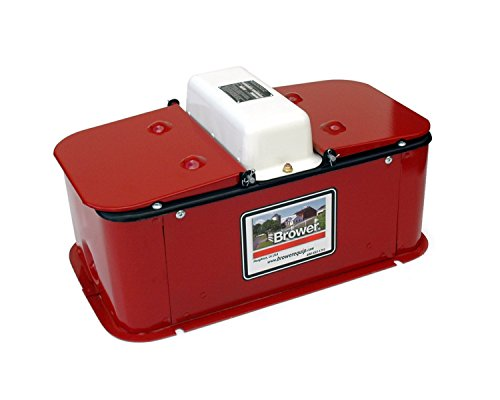 Brower MC32E Super Insulated Electric Heated Double Drink Hog Waterer