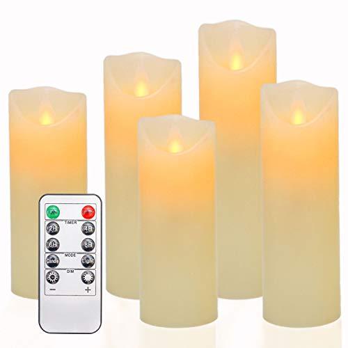 OSHINE LED Kaarsen, Vlamloze Kaarsen H(5.5