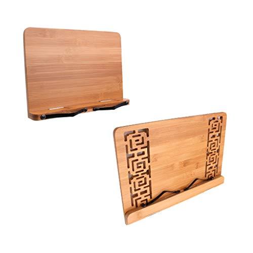 Homyl Tischhalter für Musik Reggilibri mit Ständer, verstellbar, elegantes Design, für Rezeptbuch