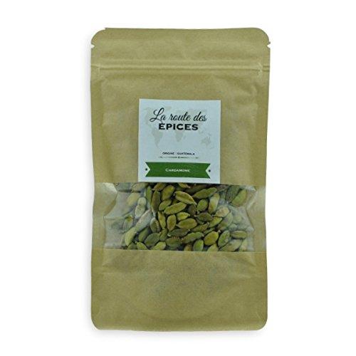 Cardamomo verde (baccelli) - 40g (Bustina richiudibile)