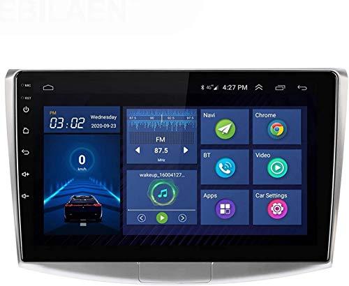 ZHFF Car Stereo Android 10.0 Radio Head Unit Compatible Passat 7 B7 2011-2015 Navegación GPS Pantalla táctil de 9 Pulgadas Reproductor Multimedia MP5 Receptor de Video con 4G WiFi Car In-Dash Video