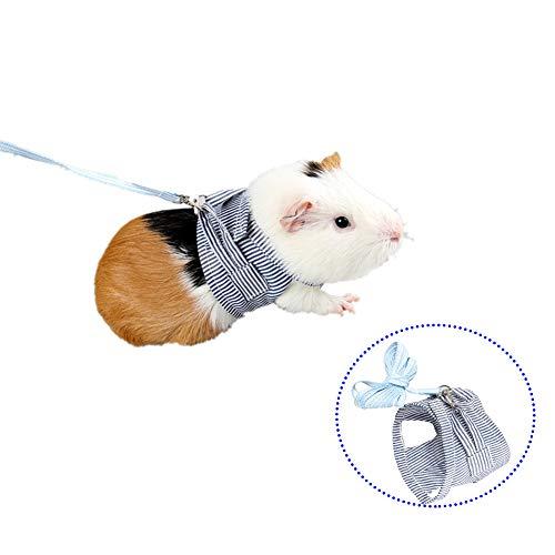 Bello Luna Kaninchen Hamster Harness mit Leine für Bunny Hamster Frettchen Kleintier