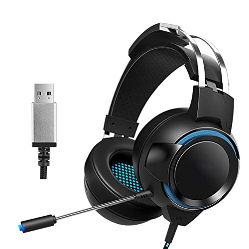 Great Deal! 7.1 Surround Sound Gaming Headset, Wired Stereo PS4 Headphones with Noise Cancelling Mic...
