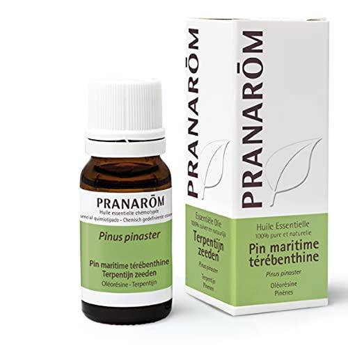 Pranarom - Marítimo Trementina, Aceite Esencial Natural, Pino, 10 ml