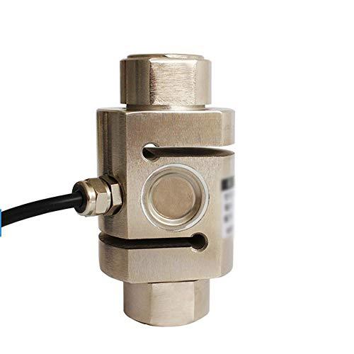 LIBILAA Wiegesensor legierter Stahl Säule/S Typ Zugdruck Druck- und Zugkraft Wägezelle Dosierhaken Waage Großmaßstab (Farbe, Size : 0-100kg)