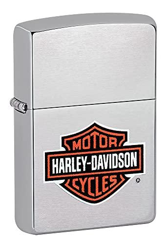 Zippo Zippo Harley Davidson H-D - Chrome brushed Brushed Chrome