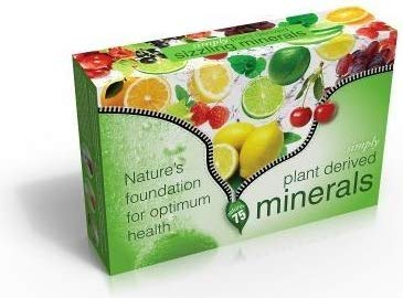 Simply Natural Pure Plant Derived Sizzling Minerals (Orange + Cherry Berry Flavour)