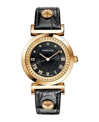 Versace de Mujer Reloj de Pulsera XS Vanity analógico de Cuarzo Piel p5q80d009s009