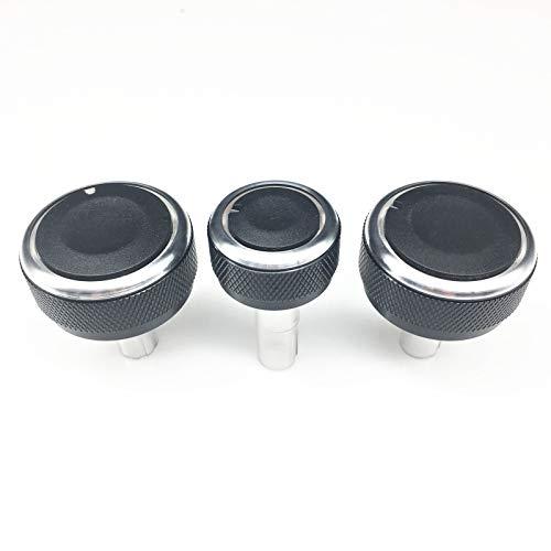 YuQiLin Coche Estilo Aire Acondicionado Control de Calor Interruptor Interruptor Perilla AC Accesorios para automóviles/Ajuste para -Volkswagen VW Golf 4 MK4 Bora Passat B5 /