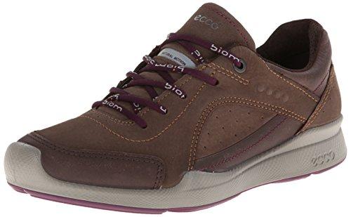ECCO Damen Biom Hybrid Walk Sneaker, Braun (Coffee/Espresso/Burgundy), 43/43.5 EU