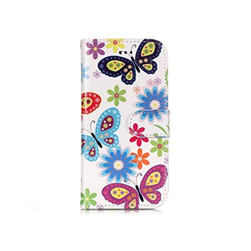 Funda para Huawei P20 P20 Pro P20 Lite P9 Lite P10 Lite P8 Lite 2017 Funda con tapa de mármol, piel pintada tipo cartera -2-for Huawei P9 Lite