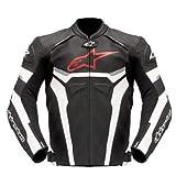 Alpinestars GP Plus LEATHER JACKET MOTORBIKE/MOTORCYCLE BLACK/WHITE...