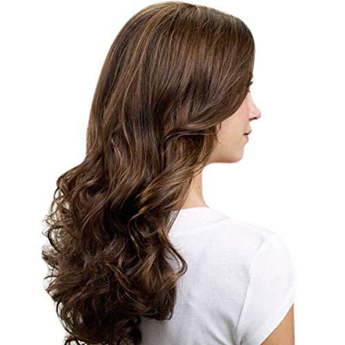 Aplique De Cabelo Ondulado Longo Hairdo 58cm Avelã