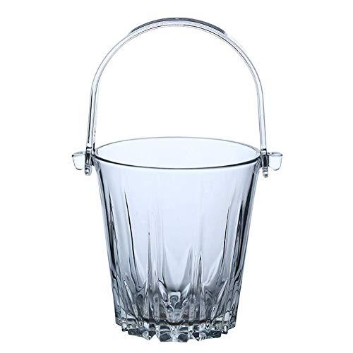 Tcbz Cubo de Hielo con Pinzas de plástico Bandeja para el hogar y la Cocina Entretenimiento para Whisky Doble a la Antigua, Vasos para Beber, Cerveza, Agua, Jugo, Bebidas frías, Transparente