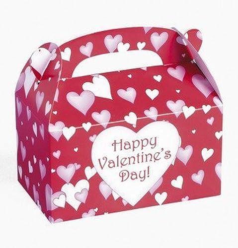 descuento online Dozen Cardboard Cardboard Cardboard Valentine's Day Treat Boxes by FE  hasta 42% de descuento