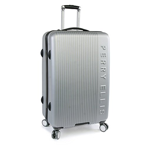 Perry Ellis Forte Hardside Spinner Check in Luggage 29