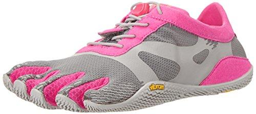 Vibram Women's KSO evo-w, Grey/Pink, 37 EU/7-7.5M US