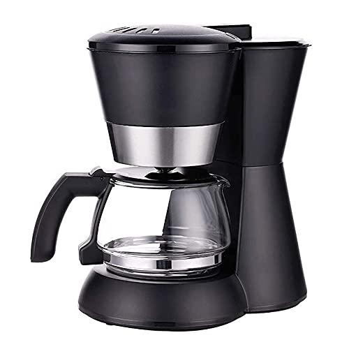 TYUIOYHZX Máquina de café de Filtro, 600W, Anti-Goteo de diseño, preservación del Calor de diseño, Escritorio pequeño, Cafetera