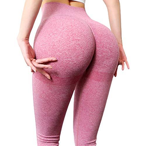 Opprxg Running Fitness Slim Yoga Pants Damas Transpirable Cintura Alta Push up Stretch Fitness Leggings