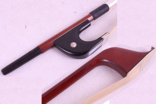 Yinfente 3/4 aufrechter Kontrabass-Bogen aus Brasilholz