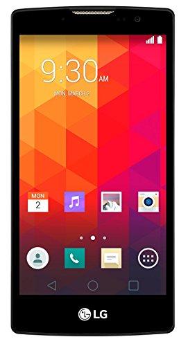 LG Spirit Smartphone 4G Smartphone (11,9cm/ (4,7pollici) schermo HD IPS, Processore Quad-Core da 1,2GHz, Fotocamera da 8megapixel, 8GB di memoria interna, Android 5.0)