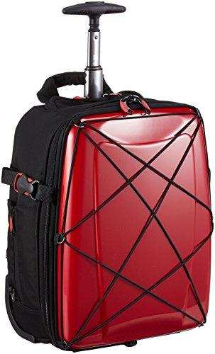 [ヒデオワカマツ] スーツケース ソフト ハイブリッドギアトローリー 3WAY 85-76300 20L 41.5 cm 2.5kg レッド
