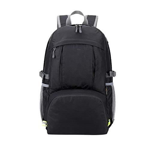 40L Travel Laptop Backpack, Work Bag Lightweight Camping Pack with USB Charging Port, Anti Theft Climbing Rucksack, Water Resistant Hunting Backpack Gifts for Men and Women